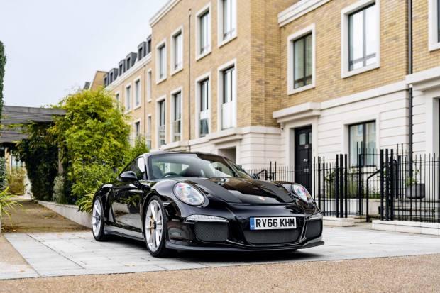 The special-edition Porsche 911R