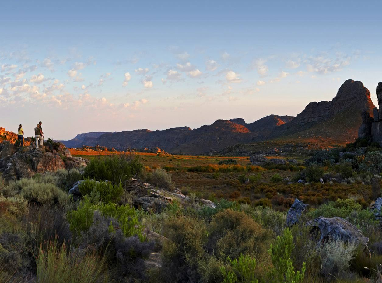 The Rocklands region of the Cederberg Mountains, South Africa.
