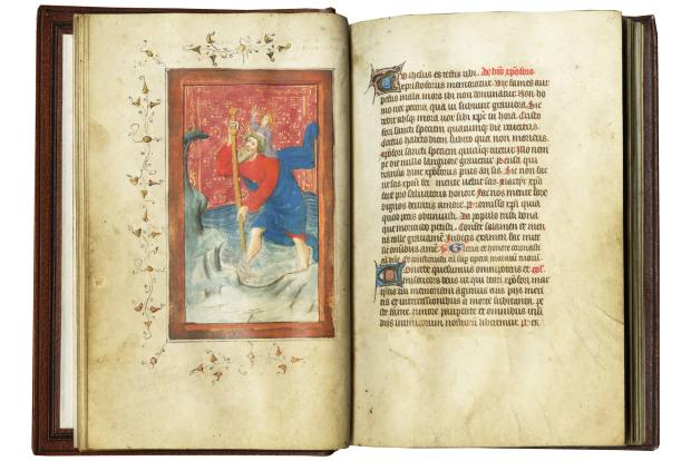 Les Enluminures is offering The Bybbesworth Hours, an illuminated Latin manuscript from the southern Netherlands, c1405-1415, for $150,000