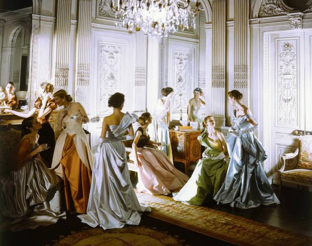 Charles James Dresses, New York by Cecil Beaton, $3,000-$5,000