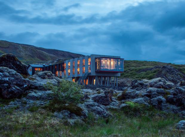 The ION Luxury Adventure Hotel in Selfoss, Iceland