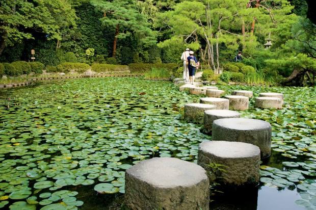 The Garden of the Gods at Heian Jingu Shrine, Kyoto