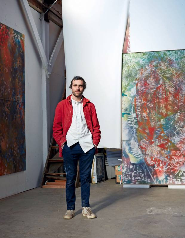 Sam Falls' design for Louis Vuitton shares the same enigmatic quality as his artworks
