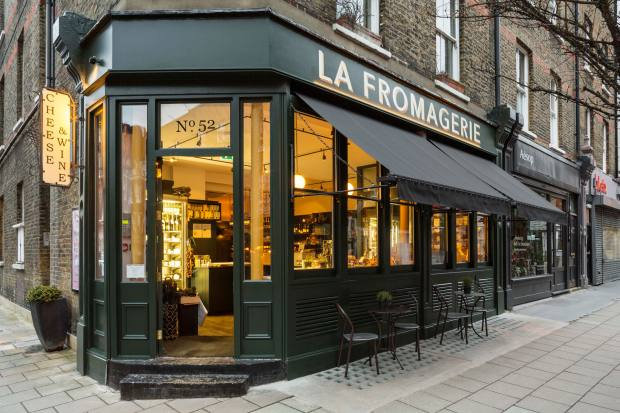 La Fromagerie on Lamb's Conduit Street, London