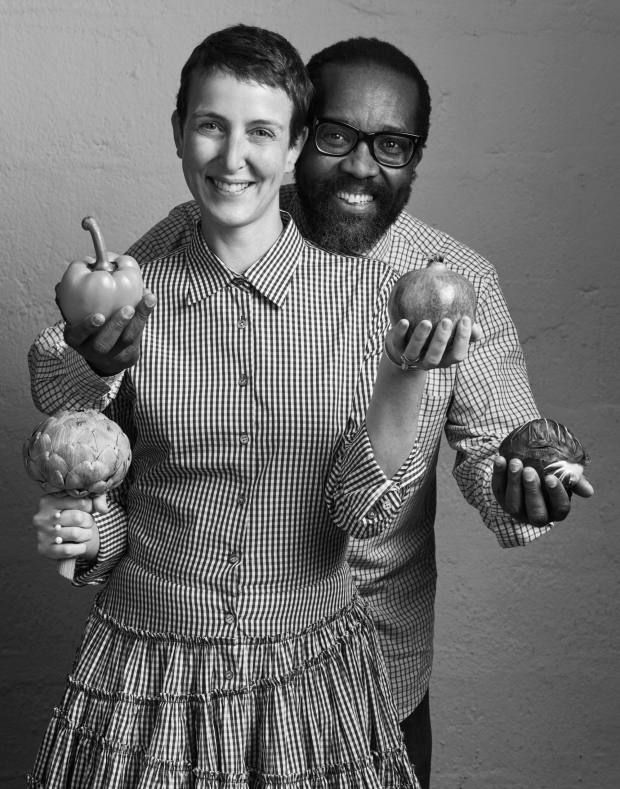 Sarah Andelman made the editorial selection for the auction brochure and is pictured here with Koto Bolofo