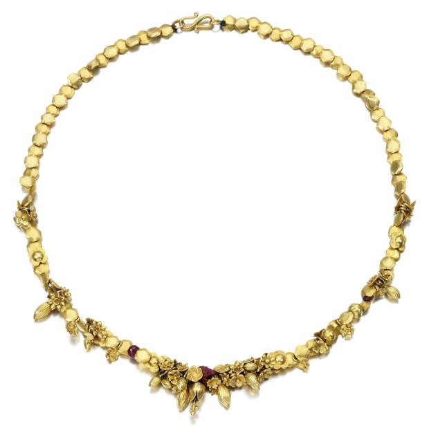 Pippa Small bought her gardener sister a necklace hung with little gold charms that represented the shapes in her world, such as seeds and pods