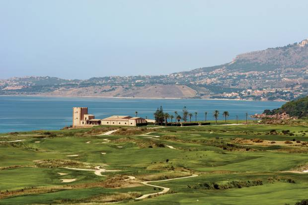 Verdura Resort in its coastal setting