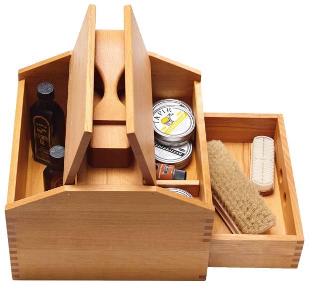 Tapir shoepolishing box, from £103, from Manufactum