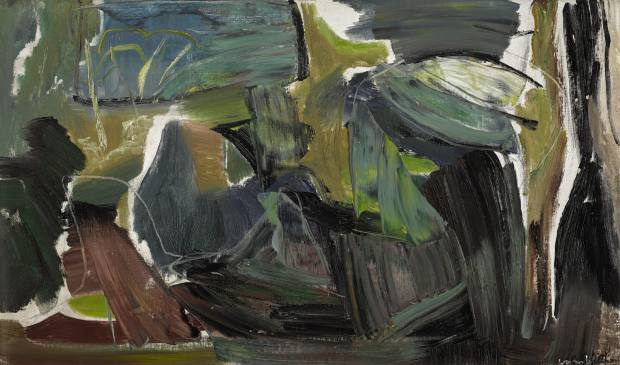 Spring Light Over Foliage, c1945, by Ivon Hitchens, estimate £25,000-£35,000