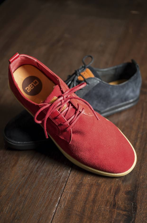 Clae leather and suede shoes, from about £77