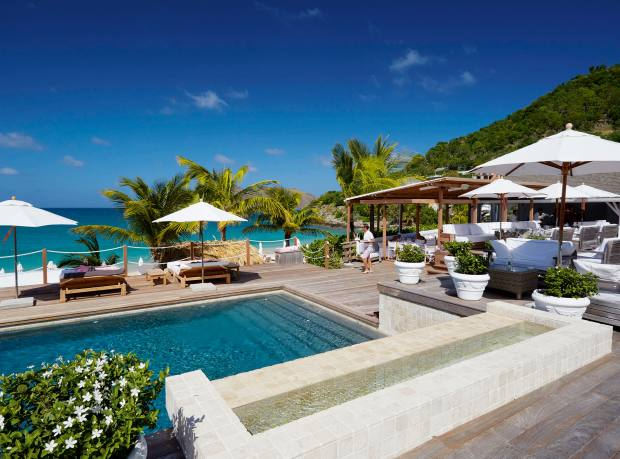 The pool at Cheval Blanc St-Barth Isle de France