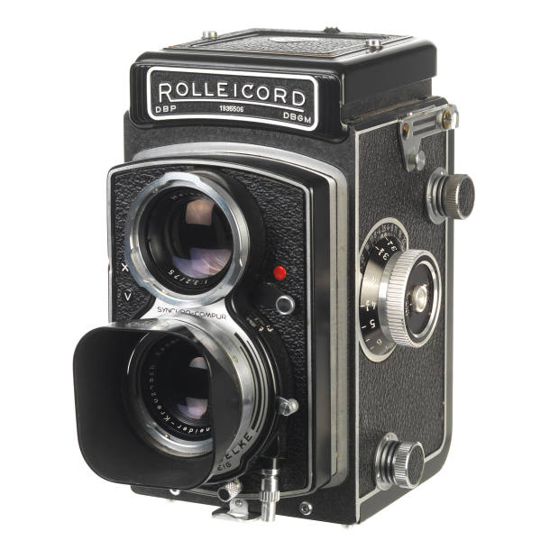 The author's 1959 Rolleicord 120