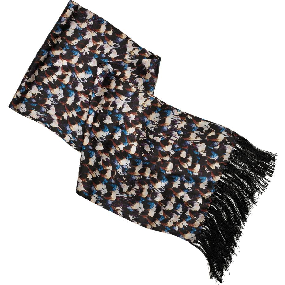 Hardy Amies evening scarf in silk, £200. Also in other colours