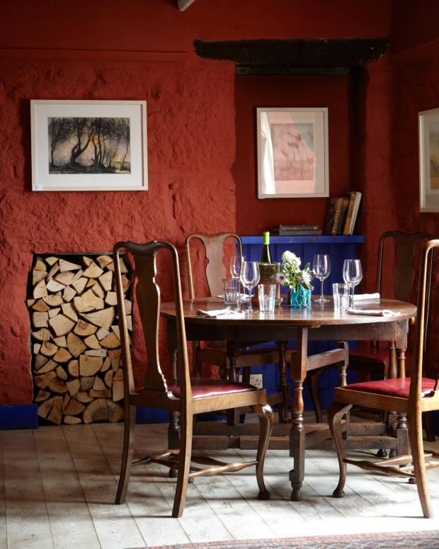 The Gurnard's Head gastro pub in Zennor
