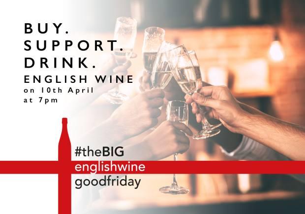 The Big English Good Friday wine tasting