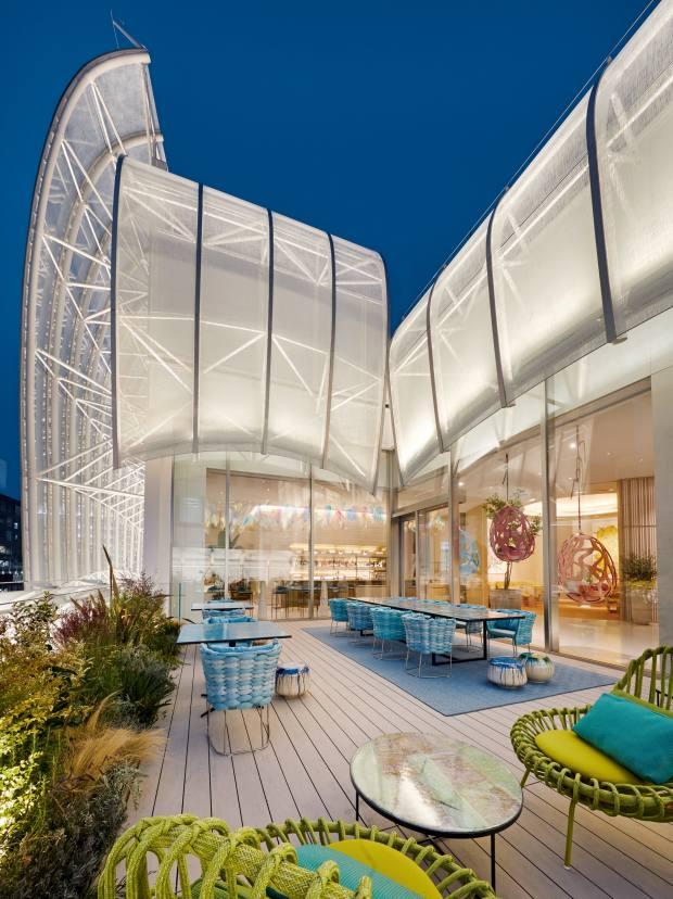 Le Café V, Louis Vuitton's new restaurant in Osaka