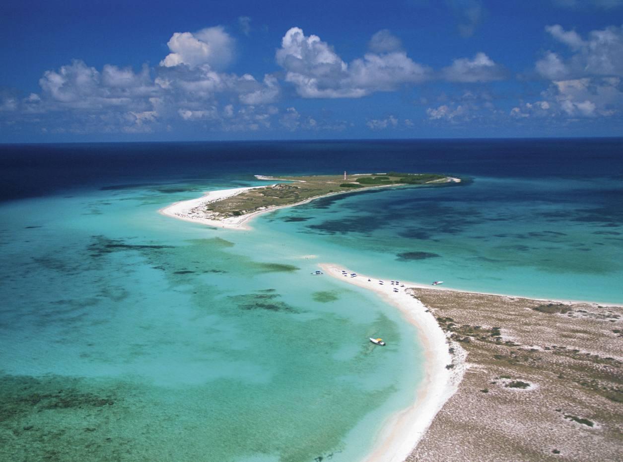 Cayo de Agua and Punta de Cocos in the Los Roques archipelago, Venezuela