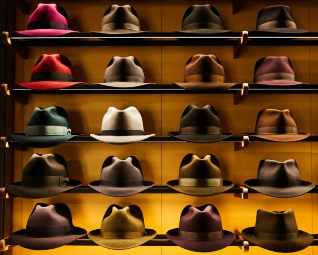 250ec1c5 Optimo's range is largely made up of classic fur-felt fedoras and trilbies,  as