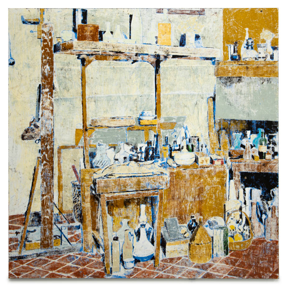 Enoc Perez's paintings of iconic interiors go on show at Ben Brown Fine Arts