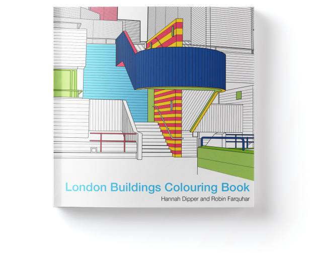 London Buildings Colouring Book by Hannah Dipper and Robin Farquhar (Batsford, £7.99)