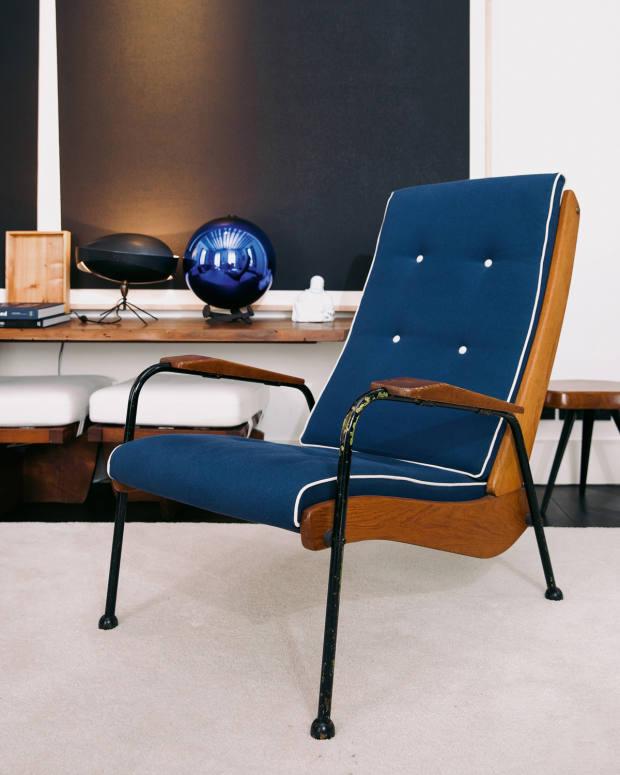 Laffanour's Jean Prouvé armchair