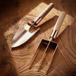 Grafa bronze trowel and fork, £45