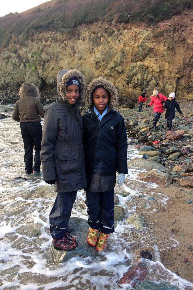 The charity gives inner-city children the chance to explore the countryside and connect with nature