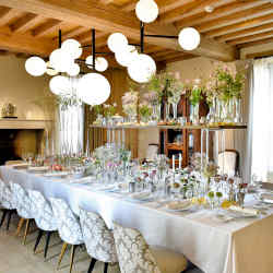 Monade at Domaine des Etangs is a private restaurant offering a personalised dining experience for up to 22 guests