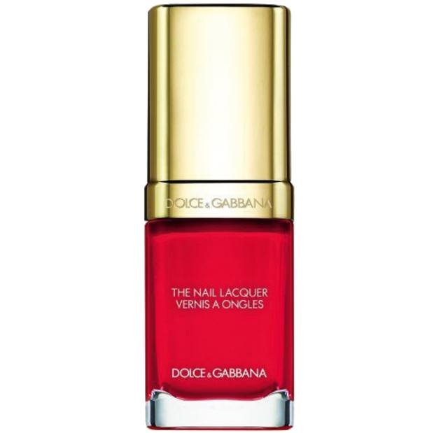 Dolce & Gabbana The Nail Lacquer inFire, £22, from Harrods