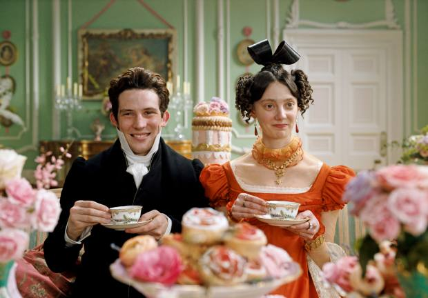 O'Connor as Mr Elton in the new adaptation of Jane Austen's Emma