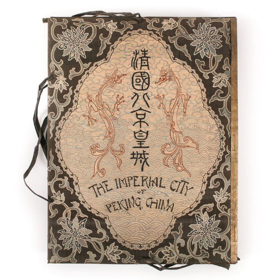 A 1906 folio of the first complete photographic survey of the Forbidden City, Peking, £65,000, through Maggs Bros