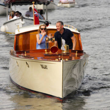 The annual Thames Traditional Boat Festival showcases traditionally built craft of all sizes in Henley-on-Thames