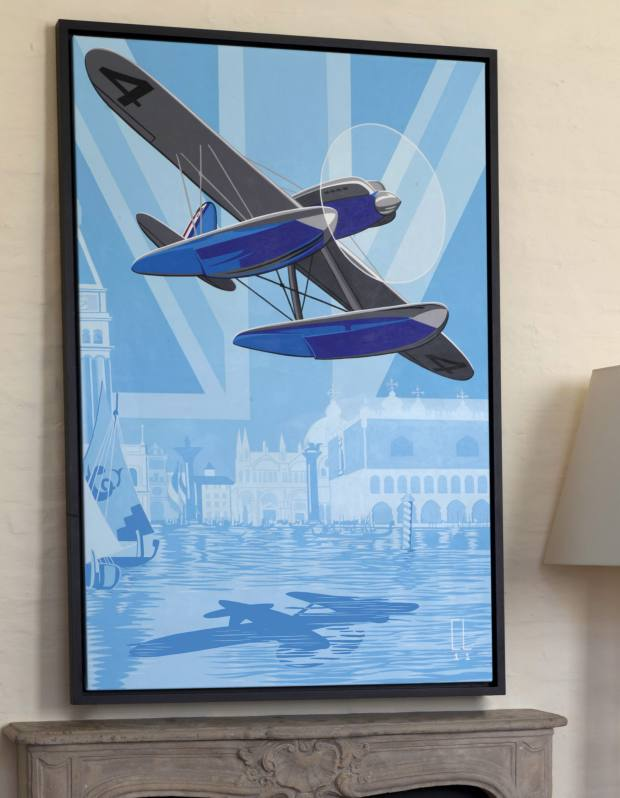 Venice 27 by Conrad Leach, sold for £12,500 by Gauntlett Gallery