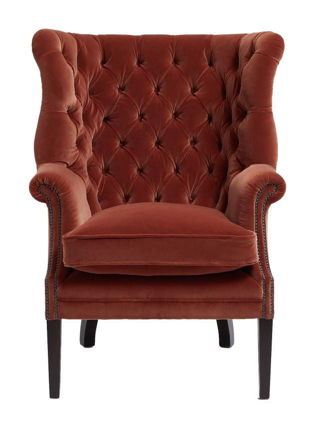 Soho Home mohair House Porter chair, £2,495