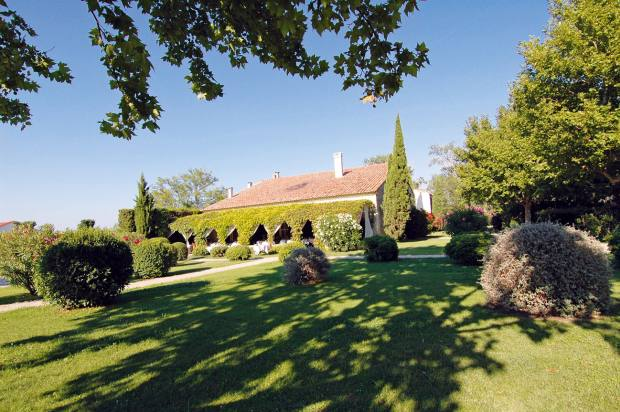 LeMas de Peint country hotel and restaurant is set amid a 500-hectare estate
