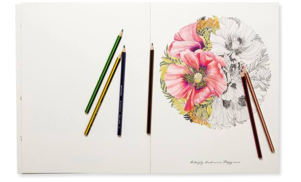 Floribunda: A Flower Colouring Book by Leila Duly (Laurence King, $22.50)