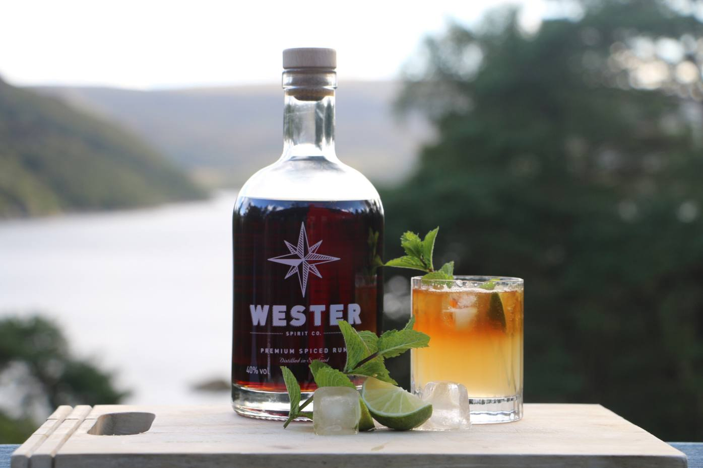 Wester Premium Spiced Rum (£35 for 70cl) is infused with spices such as star anise, nutmeg and cardamom