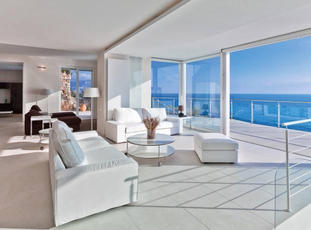 A newly refurbished six-bedroom villa on Cap Ferrat, €26m through Michaël Zingraf