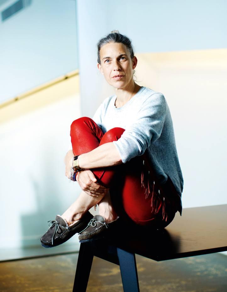 Isabel Marant at her Paris showroom
