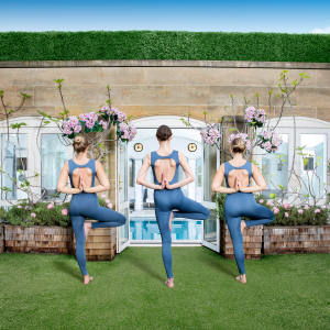 The summer yoga classes, created in collaboration with Silou London co-founder and yoga instructor Phoebe Greenacre, will lead up to eight guests through an hour of poses