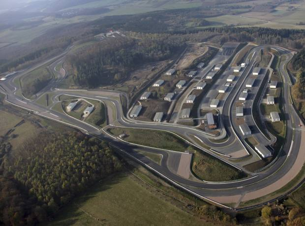 The circuit at Bilster Berg Drive Resort, sited near Bad Driburg in Germany, features former ammunition stores