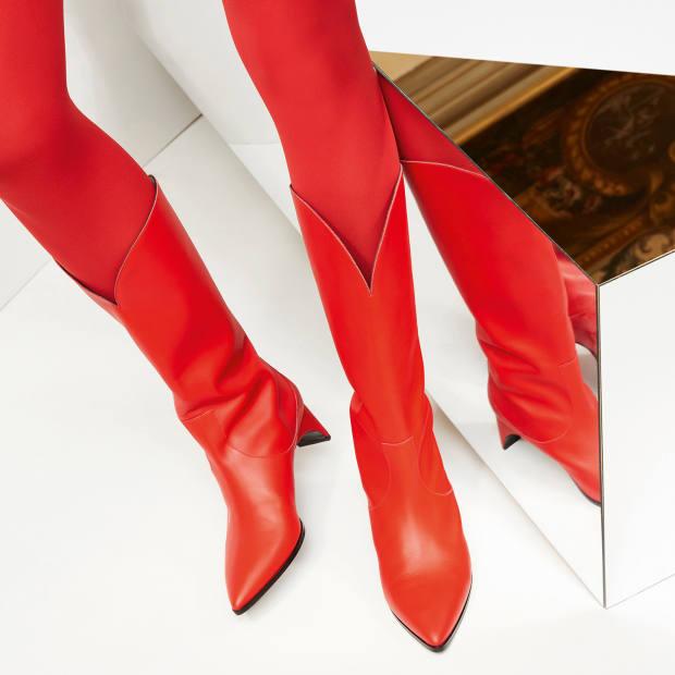 Pierre Hardy calfskin Cassidy boots, €995