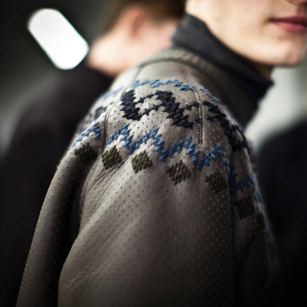 Hermès sheepskin sweatshirt, £9,315
