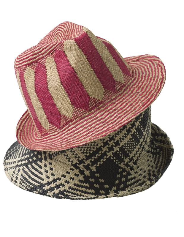 Vintage-style straw hats by Inverni (from £59)