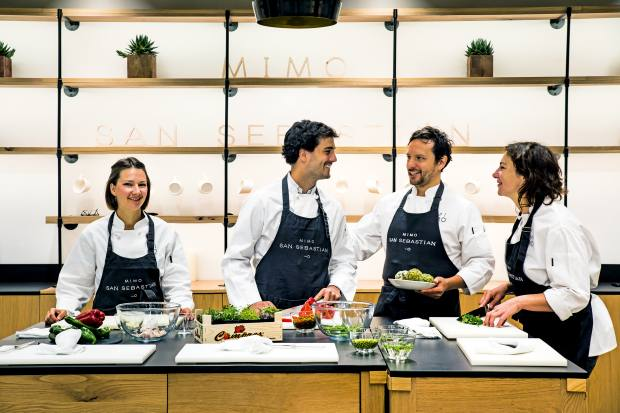 Chefs impart their culinary expertise at the Mimo cookery school, which opened at the hotel in 2015