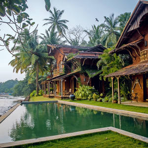 Sunrise and Sunset Villas at Ahilya by the Sea