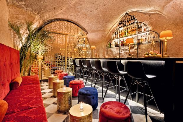 TheCave Bar in Jerusalem's year-old Villa Brown hotel