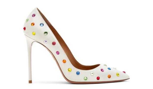 Aquazzura heels, £705