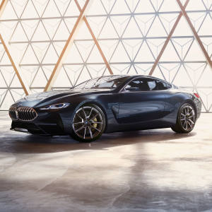 Adrian van Hooydonk, senior vice-president of BMW Group Design and the new BMW Concept 8 Series