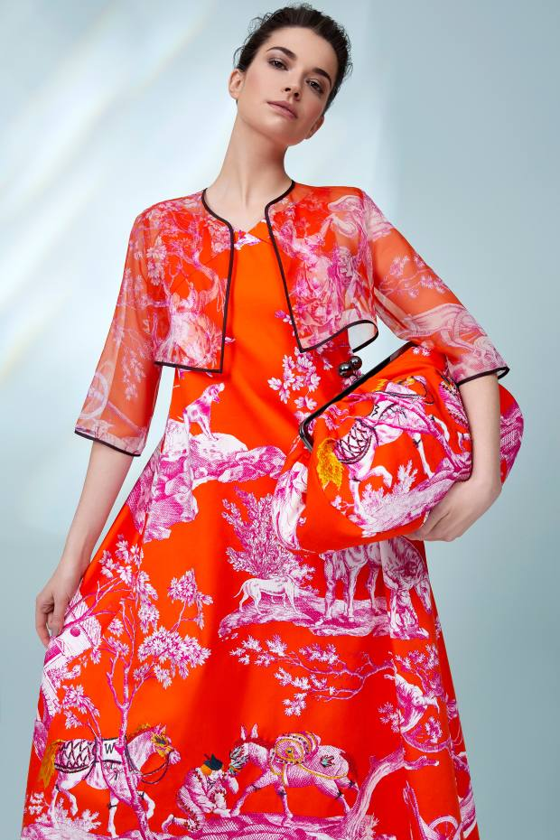 4407e139d0 Weekend MaxMara s Trophy Day collection creates a striking statement in a  bold selection of colours